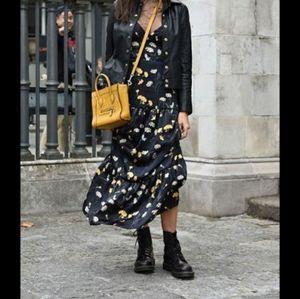 Spenser Jeremy sleeveless silk floral print dress